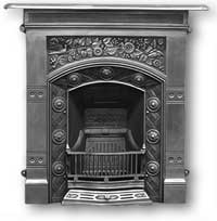 Jekyll Complete Cast Iron Fireplace