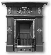 Rochford Complete Cast Iron Fireplace