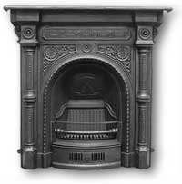 Tweed Complete Cast Iron Fireplace