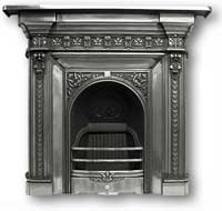 Melrose Complete Cast Iron Fireplace