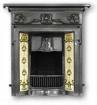 Morris Complete Cast Iron Fireplace