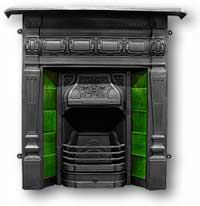 Lambourn Complete Cast Iron Fireplace