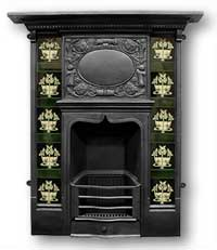 Carrington Complete Cast Iron Fireplace